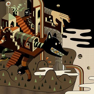 Afrika Shox, création graphique, illustration, travail personnel