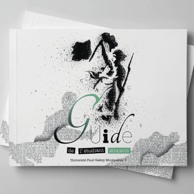 couverture du guide de l'étudiant 2014-2015 (version alternative)